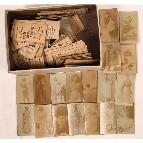 Cigarette Cards from 1870's  [129716]