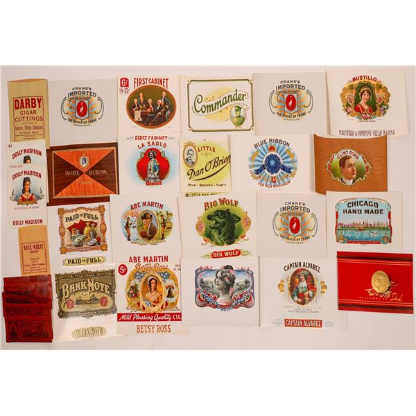 Cigar Label & Advertising Collection  [138534]