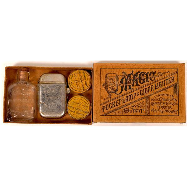 Magic Pocket Lamp & Cigar Lighter  [138363]