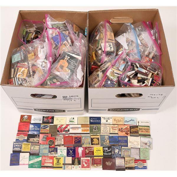 Matchbook Collection including High-Grade Pictorial  [140175]