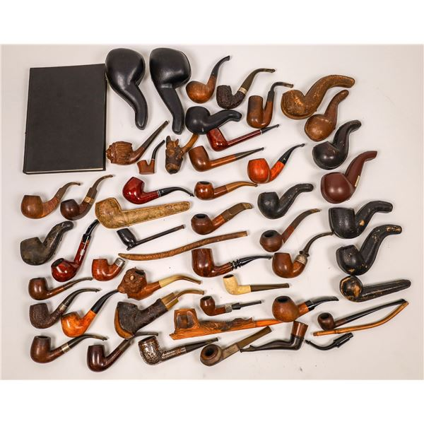 Important Pipe Collection Including Meerschaum and Briar [138398]