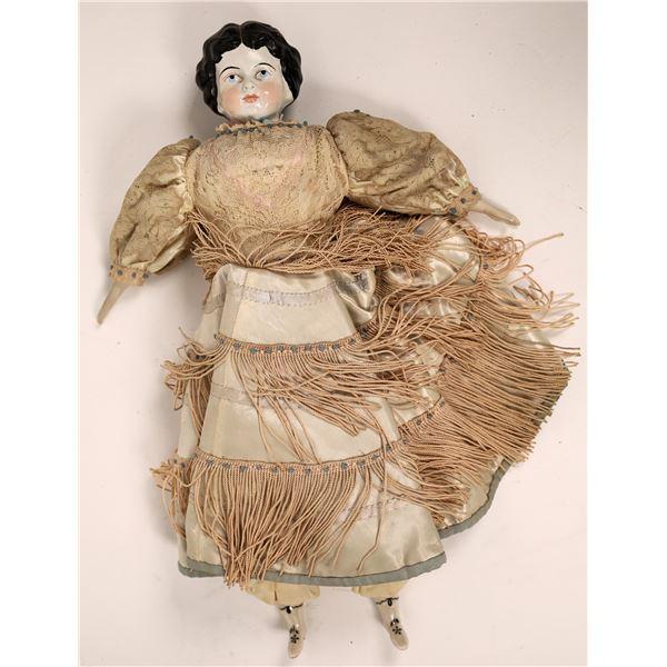 Antique Porcelain Doll   [138408]