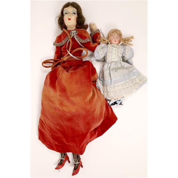 Two Vintage Dolls  [138407]