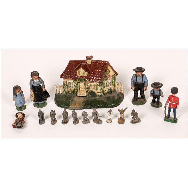 Cast Iron Toy Figures  [139844]