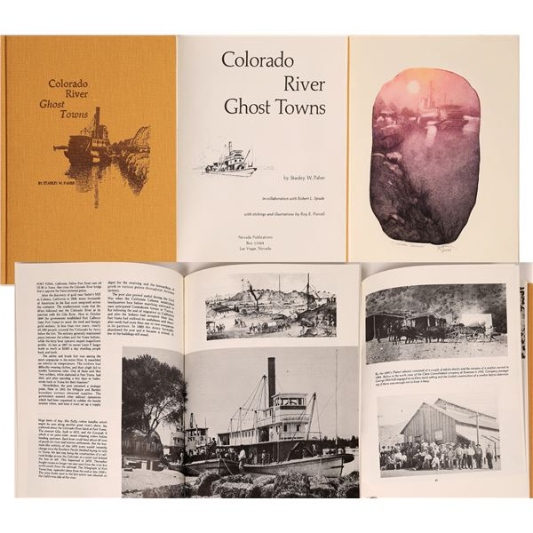 """""""Colorado River Ghost Towns"""" by Stanley W. Paher/ Artist's Proof Edition  [139181]"""
