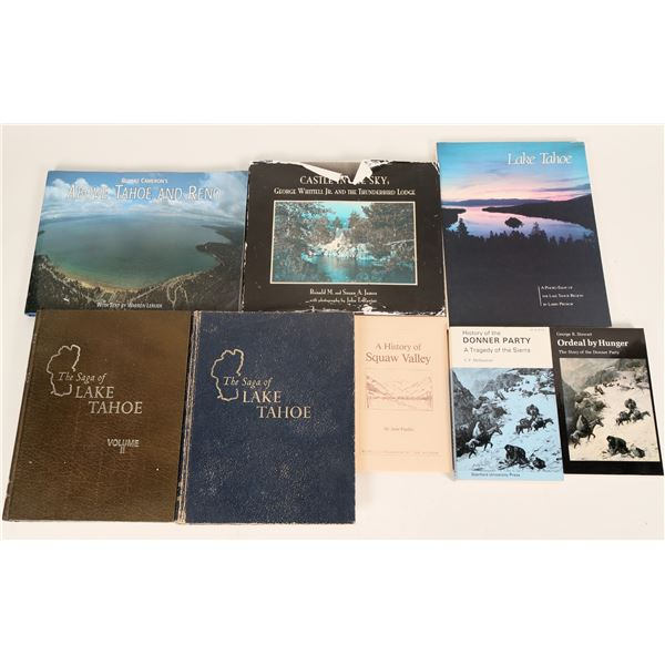Key Lake Tahoe Reference and Coffee Table Books  [125221]