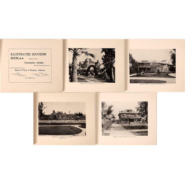 Illustrated Souvenir Book Showing a Few Pasadena Homes, 1898  [139061]