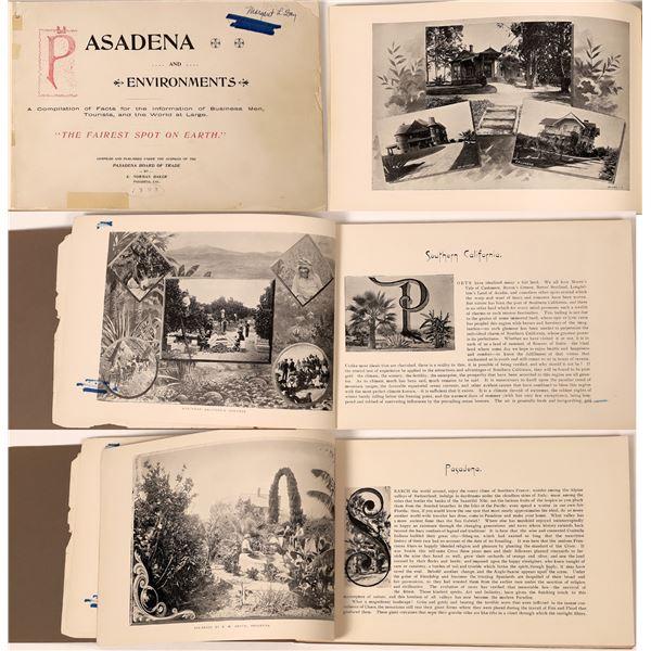 Pasadena and Environments, 1893  [139066]