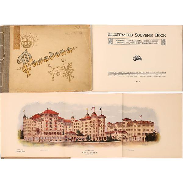 Pasadena, A Pictorial Guide 1903  [139067]