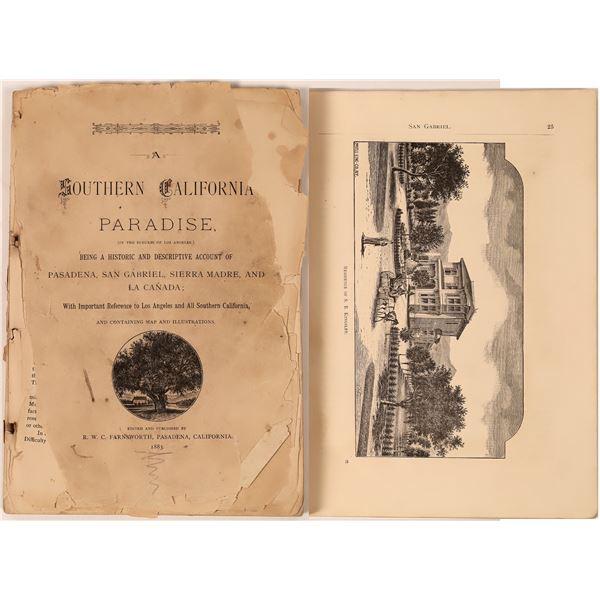 Southern California Paradise (Pasadena, San Gabriel Valley) 1883  [139060]