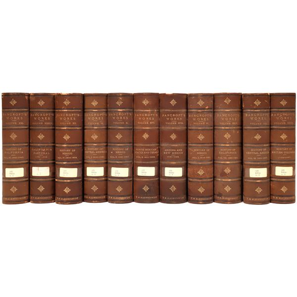 The History of California by Hubert Howe Bancroft (23 in Boxes)  [139553]