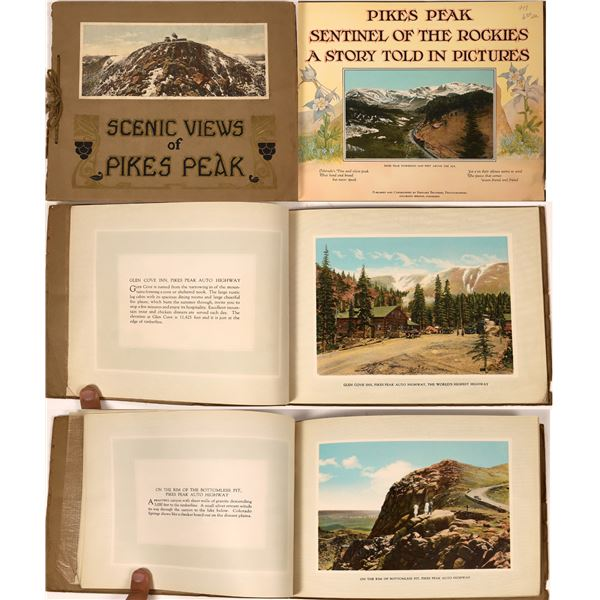 Scenic Views of Pikes Peak: Sentinel of the Rockies A Story Told In Pictures  [139186]