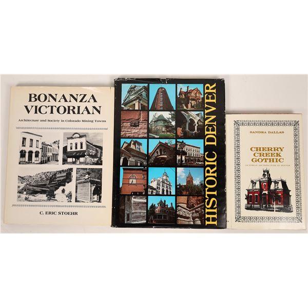 Colorado Historical Architecture Publications (3)  [139426]