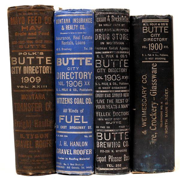 Butte, MT. Polk City Directories  [139576]