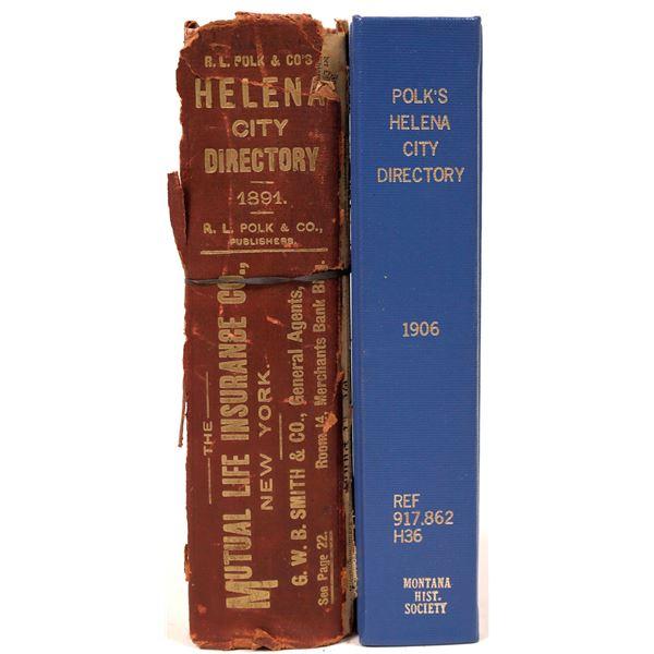 Helena, MT. City Directory Duo (2)  [139571]