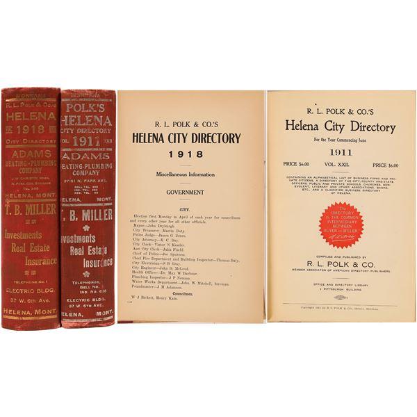 Polk Helena MT. Directories (2)  [139564]