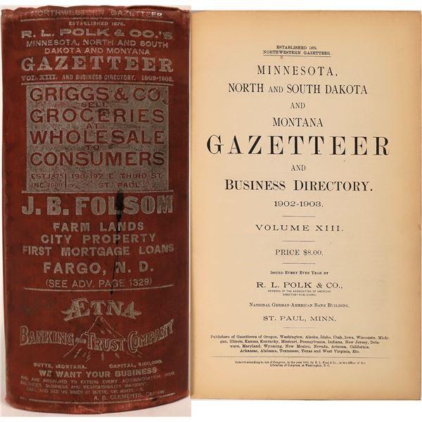 Polk Muti-State Gazetteer 1902-1903  [139581]