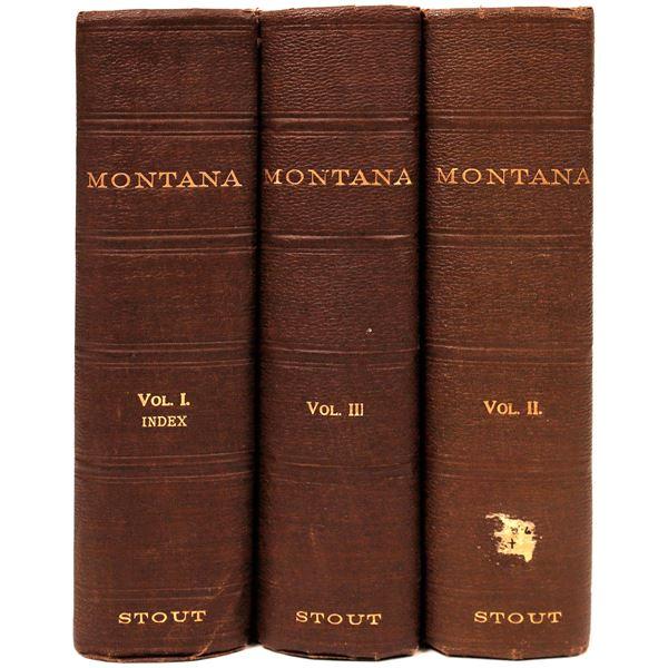 Tom Stout Montana History Vol. I, II & III  [139598]
