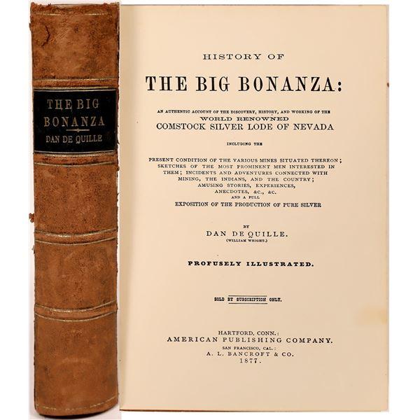History of the Big Bonanza  [139446]