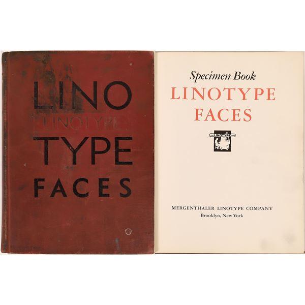 Linotype Faces Specimen Book  [139597]