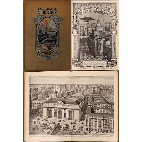 King's View of New York by Moses King, Inc. 1912  [139780]