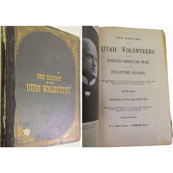 History of the Utah Volunteers (Book)  [138926]