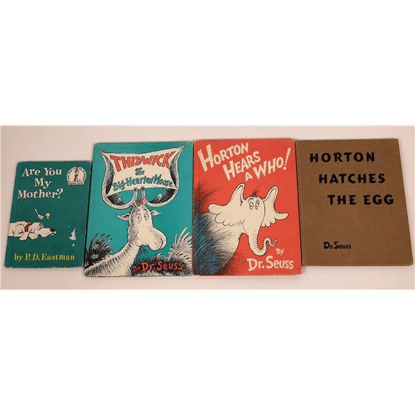 Dr. Seuss 1st edition Books Plus (4)  [141068]