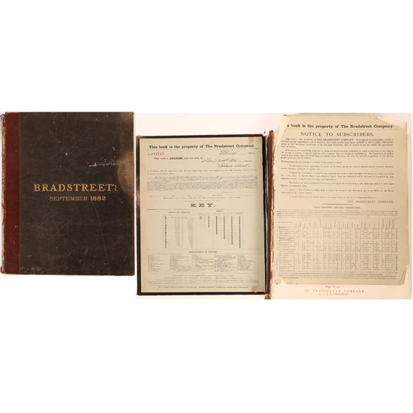 Bradstreet's 1882 Commercial Directory for the US  [139795]
