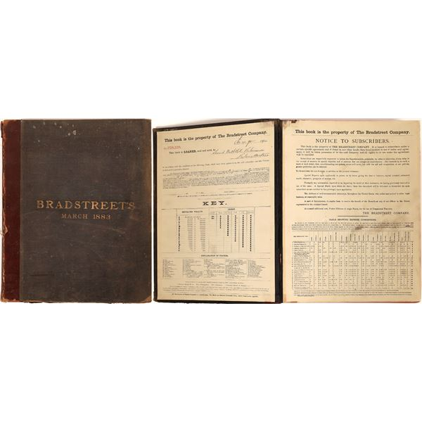 Bradstreet's 1883 Commercial Directory for the US  [139794]