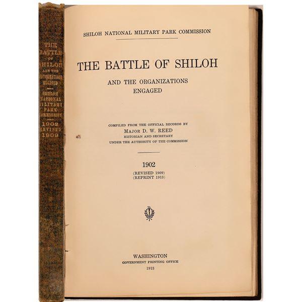 Battle Of Shiloh, Reed, 1913 w Maps  [141154]