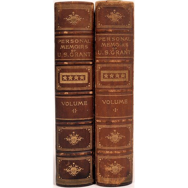 First Edition Set of U.S. Grant's Personal Memoirs  [140704]