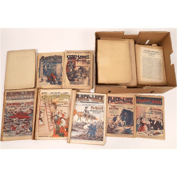 Pluck and Luck Dime Novels (100)  [139679]