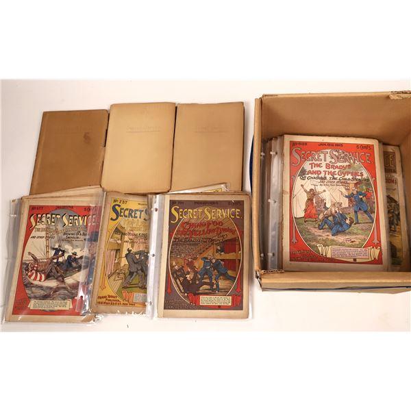 Secret Service Nickel Weekly Novels (100)  [139680]