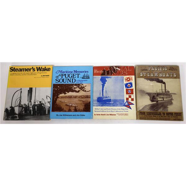 Pacific Coast Maritime Publications (4)  [139431]