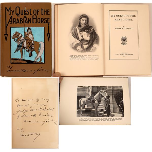 My Quest of the Arabian Horse by Homer Davenport  [138543]