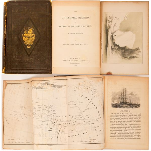 The U.S. Grinnell Expedition in Search of Sir John Franklin. A Personal Narrative  [138542]