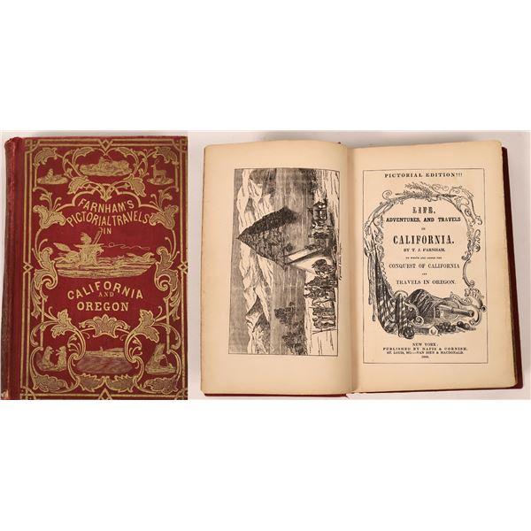 Farnham's Pictorial Travels in California and Oregon  [139480]