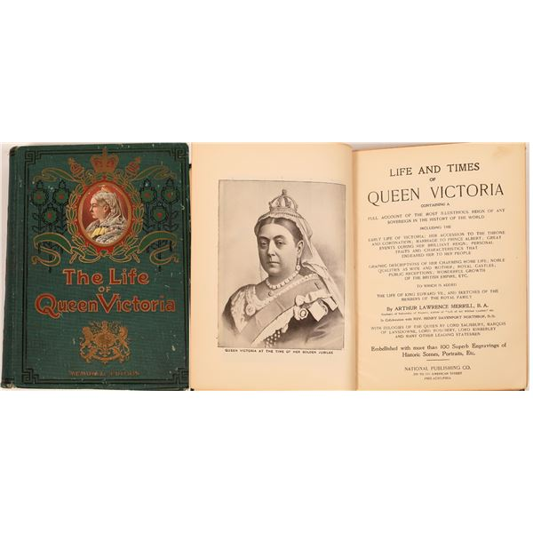 Scarce - Book on Queen Victoria  [139389]