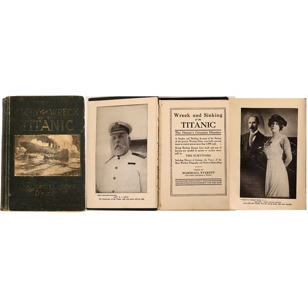 Titanic Book from 1912  [127015]