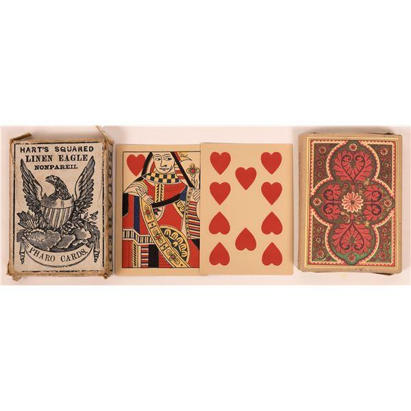 Faro Card Deck in Original Box & More  [140450]