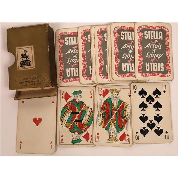 Belgian Stella Artois Playing Cards  [140507]