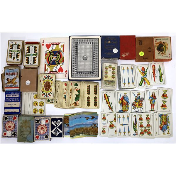 Collectible Playing Cards (16 decks)  [139237]