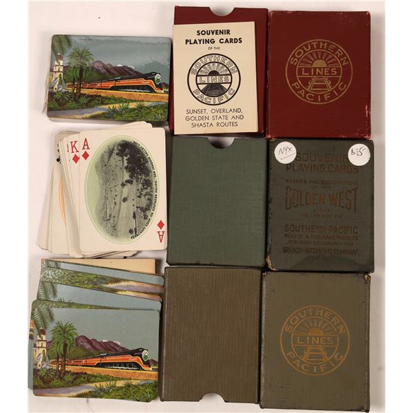 Southern Pacific Lines Souvenir Playing Cards  [139251]