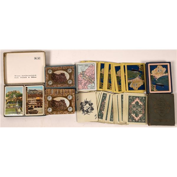 Travel Related Playing Cards  [139244]