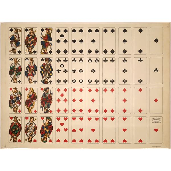 A Deck of Cards Literally Uncut  [139715]