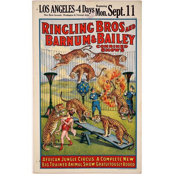 Ringling Bros. Barnum & Bailey Circus Poster  [128091]