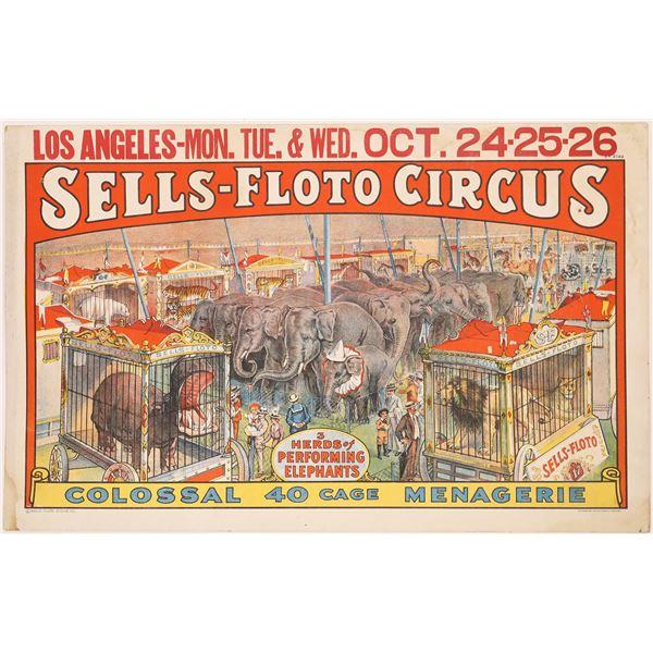 Sells-Floto Circus Poster  [128098]