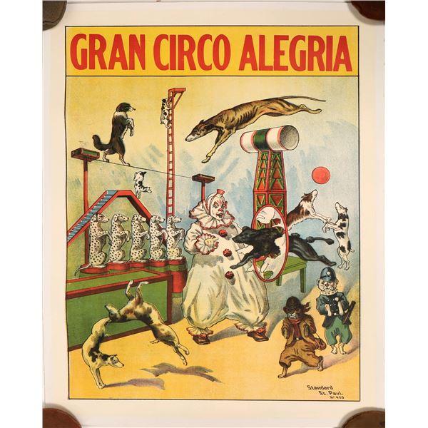 Gran Circo Alegria Advertising Poster  [139733]