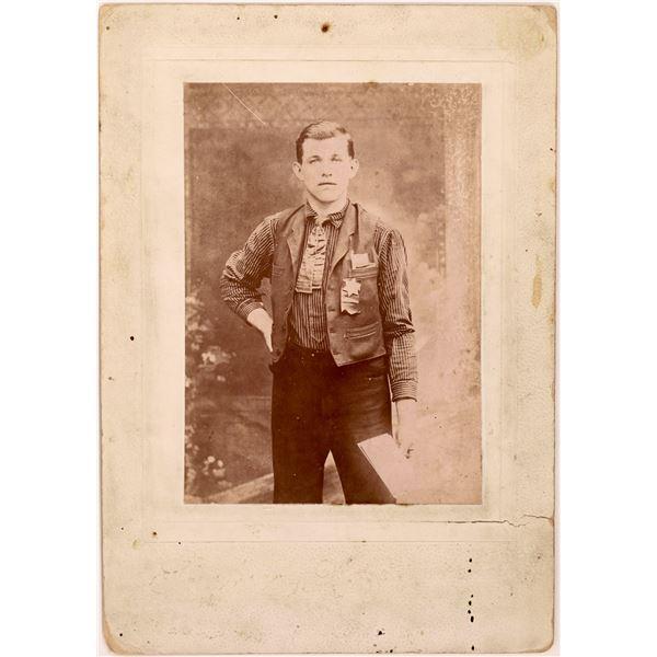 Vintage Lawman Photo  [140489]