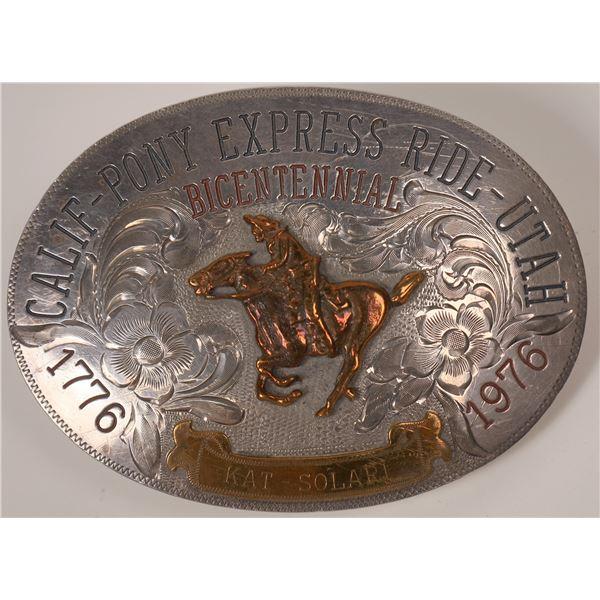 Bicentennial Pony Express Buckle  [138071]